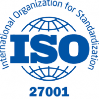 ISO 27001 ωστε ολες οι πληροφοριες του πελατη μας να ειναι ασφαλεις
